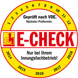 E-Check Logo Elektroteam Kottermair